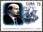 Stamps Cuba -  Vladimir Lenin (1870-1924)