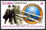 Sellos de America - Cuba -  Wright Brothers