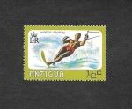 de America - Antigua y Barbuda -  Esquí Acuatico