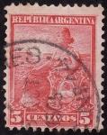 Stamps America - Argentina -  Libertad
