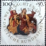 Stamps of the world : Germany :  Scott#B757 intercambio, 1,75 usd, 100+50 cent. 1993