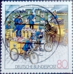 Stamps of the world : Germany :  Scott#1515 intercambio, 0,70 usd, 80 cent. 1987