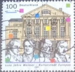 Stamps Germany -  Scott#2024 intercambio, 0,70 usd, 100 cent. 1999