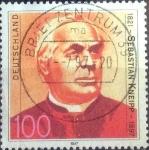 Stamps Germany -  Scott#1969 intercambio, 0,55 usd, 100 cent. 1997