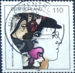 Stamps of the world : Germany :  Scott#1990 intercambio, 0,70 usd, 110 cent. 1998