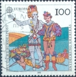 Stamps of the world : Germany :  Scott#1745 intercambio, 0,45 usd, 100 cent. 1992