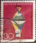 Sellos de Europa - Alemania -  Scott#980 intercambio, 0,20 usd, 30 cent. 1968