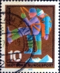 Stamps of the world : Germany :  Scott#1023 intercambio, 0,20 usd, 10 cent. 1970