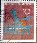 Stamps of the world : Germany :  Scott#978 intercambio, 0,20 usd, 10 cent. 1968