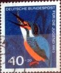 Sellos de Europa - Alemania -  Scott#B391 intercambio, 2,25 usd, 40+20 cent. 1963