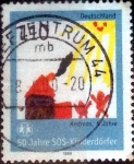 Stamps of the world : Germany :  Scott#2043 intercambio, 0,70 usd, 110 cent. 1999
