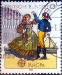 Stamps Germany -  Scott#1350 intercambio, 0,20 usd, 60 cent. 1981