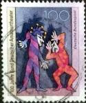 Stamps Germany -  Scott#1758 ma3s intercambio, 0,35 usd, 100 cent. 1992