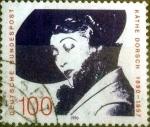 Stamps Germany -  Scott#1616 intercambio, 0,45 usd, 100 cent. 1990
