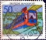 sellos de Europa - Alemania -  Scott#1210 intercambio, 0,20 usd, 50 cent. 1976