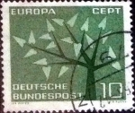 Sellos de Europa - Alemania -  Scott#852 intercambio, 0,20 usd, 10 cent. 1962