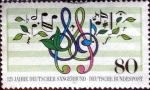 Sellos de Europa - Alemania -  Scott#1504 intercambio, 0,30 usd, 80 cent. 1987