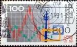 sellos de Europa - Alemania -  Scott#1680 ma3s intercambio, 0,35 usd, 100 cent. 1991