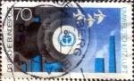 Stamps Germany -  Scott#1122 intercambio, 0,65 usd, 70 cent. 1973