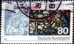 Stamps Germany -  Scott#1468 ma4xs intercambio, 0,30 usd, 80 cent. 1986