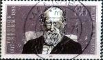 Stamps Germany -  Scott#1557 ma3s intercambio, 0,30 usd, 80 cent. 1988