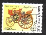 Stamps Somalia -  Automobiles