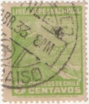 Stamps America - Chile -  Y & T Nº 23  Aéreo