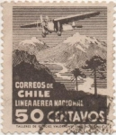 Stamps America - Chile -  Y & T Nº 26  Aéreo
