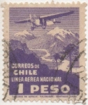 Stamps Chile -  Y & T Nº 27  Aéreo
