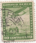Stamps Chile -  Y & T Nº 31  Aéreo