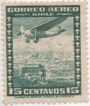Stamps Chile -  Y & T Nº 32  Aéreo