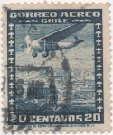 Stamps Chile -  Y & T Nº 32a Aéreo