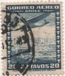 Sellos de America - Chile -  Y & T Nº 32a_1 Aéreo