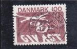 Sellos de Europa - Dinamarca -  SEGURIDAD VIAL