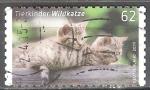 Sellos de Europa - Alemania -  Los animales Bebés,gato montés (b).