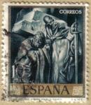 Stamps : Europe : Spain :  JOSE MARIA SERT - San Pedro y San Pablo