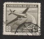 Sellos de America - Chile -  Plano y orilla