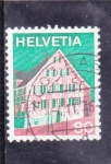 Stamps Switzerland -  CASA TIPICA