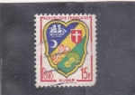 Stamps France -  ESCUDO DE ALGER