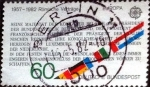 Stamps Germany -  Scott#1373 intercambio, 0,25 usd, 60 cents. 1982