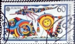 Stamps Germany -  Scott#1573 intercambio, 0,25 usd, 60 cents. 1989