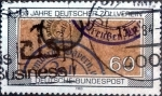 Stamps of the world : Germany :  Scott#1407 intercambio, 0,20 usd, 60 cents. 1983