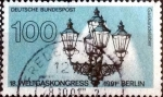 Stamps of the world : Germany :  Scott#1678 intercambio, 0,35 usd, 100 cents. 1991