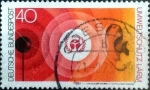 Stamps of the world : Germany :  Scott#1121 intercambio, 0,20 usd, 40 cents. 1973