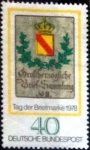 Stamps of the world : Germany :  Scott#1281 intercambio, 0,20 usd, 40 cents. 1978