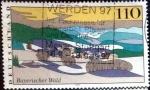 Stamps of the world : Germany :  Scott#1974 intercambio, 0,70 usd, 110 cents. 1997