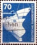 Sellos de Europa - Alemania -  Scott#1177 intercambio, 0,20 usd, 70 cents. 1975