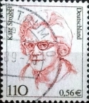 sellos de Europa - Alemania -  Scott#1728 intercambio, 0,40 usd, 110/56 cents. 2000