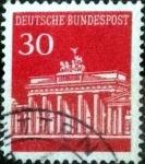 Sellos de Europa - Alemania -  Scott#954 intercambio, 0,20 usd, 30 cents. 1966