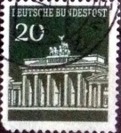 Stamps of the world : Germany :  Scott#953 intercambio, 0,20 usd, 20 cents. 1966